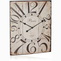 Zegar Paris 70 cm - BelleMaison.pl #francuskiezegary #zegaryścienne