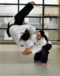 Women can actually perform Aikido techniques better than a lot of men, because women find it easier to cooperate and blend with a partner. Men generally want control and power.