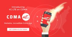 CDMA 4G LTE has arrived on Red Pocket Mobile! Find a plan: http://GoRedPocket.com/plans#cdmav