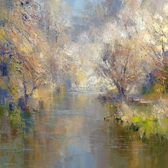 Rex PRESTON - Early Spring, Dovedale