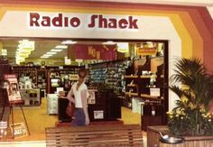 Radio Shack Mall Store moms answer to all things