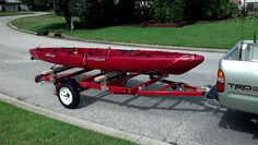 Harbor Freight kayak trailer