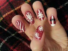 Christmas Holiday by julz - Nail Art Gallery nailartgallery.nailsmag.com by Nails Magazine www.nailsmag.com #nailart