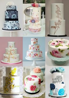 Unique Wedding Cakes | Title : New Fresh Cute Wedding Cakes 2013 Trends