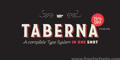 Taberna Font Free Download | Free For Fonts
