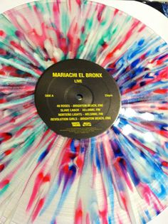 splatter vinyl from Mariachi El Bronx