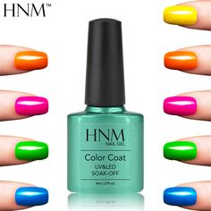 HNM 79 Colors UV Gel Varnishes Long lasting Gel Nail Polish 8ml Soak Off Gel Lak Gelpolish Smalto Vernis Semi Permanent