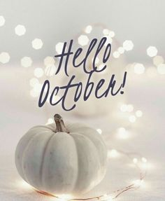 Hello October Hello October Images, October Pictures, Hello January, October Fall, Happy October, October Quotes, October Wallpaper, At Home Abs, Bullet Journal Themes