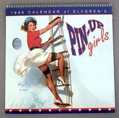 1996 2024 Gil Elvgren Pin-Up Girls Calendar
