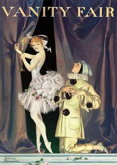View Pierrot and Columbine for Vanity Fair magazine cover by Frank Xavier Leyendecker on artnet. Browse upcoming and past auction lots by Frank Xavier Leyendecker. Vintage Circus, Vintage Art, Pinturas Art Deco, Pierrot Clown, Vanity Fair Magazine, Send In The Clowns, Vintage Vanity, Vintage Magazines, Pics Art