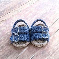 Crochet PATTERN. Birkenstock style baby by ShowroomCrochet on Etsy