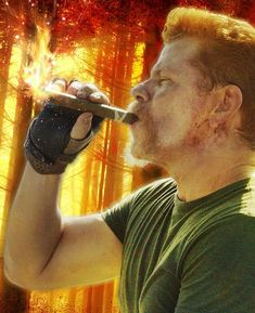 Abraham Ford by Carrion Abraham Ford, Fear The Walking Dead, American Horror, Favorite Tv Shows