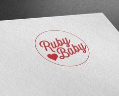 Ruby Baby - Logo Design- Castle Design