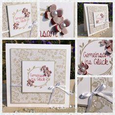 Kreativer Stempelspaß: Hochzeitskarte II