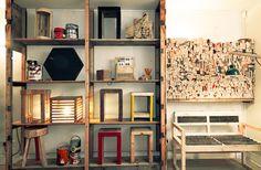 loja com material reciclado - Pesquisa Google