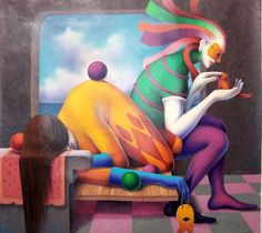 Jose De la Barra 1956 | Peruvian Symbolist painter