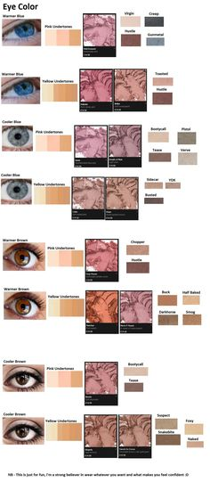 Color theory using MAC blush and the Naked Palettes