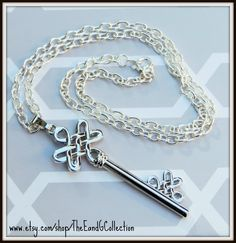 Key necklace, Silver key jewelry, Celtic knot, Irish Wedding, key to heart, Unique gift, new mom,teacher gifts, mother daughter, Accessories by TheEandGCollection on Etsy
