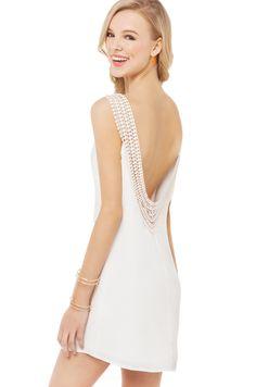 white preppy dress