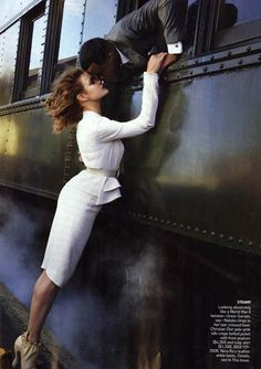 annie leibovitz - trains and romance (and p. diddy?)