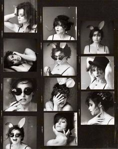 "bonhamxcarter: "" The many faces of Helena. Helena Bonham Carter featuring in 'Red Magazine' 