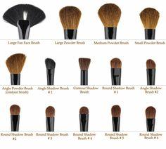 Kit pinceaux maquillage beauté