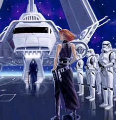 The emperor arriving with Vader and one of the emperor's hands waiting. its could be mara jade but as Trawn pointed out she was not the only one. Star Wars Characters Pictures, Star Wars Pictures, Thrawn Trilogy, Darth Bane, Mara Jade, Create Your Own Character, Anakin Skywalker, Fighting Games, Geek Culture