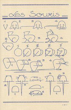 Teaching drawing to kids