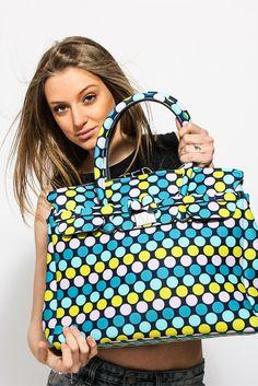 •P/E 2016• La trama a pois è un classico degli anni '80, che oggi sta tornando di moda più che mai! Ti piace la nuova Save My Bag?   Puoi scoprirla ora sul nostro sito www.RICCISHOP.it   #savemybag #borsa #donna #woman #bags #fashion #glamour #colorata #borse #accessori #creazioni #mare #madeinitaly #milano #accessori #lavoglio #donne #frosinone #stile #bella #moda #dettagli #formia #bag #ragazzina #loveit #colors #colori #molise