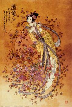 Goddess of Prosperity Impressão artística
