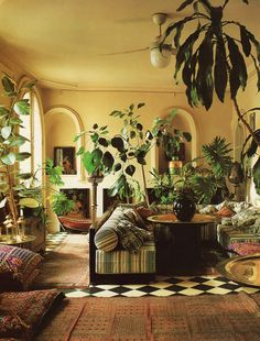 ZaZa Van Hulles' Paris apartment    Ethnic Interiors by Dinah Hall