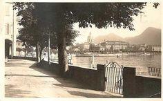 View lake, Como, '900