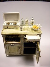 Miniature Alemikimikrì: per la cucina