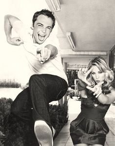 Sheldon and Penny from BBT!