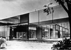 Ramón Torres y Héctor Velázquez: Centro Comercial Jacaranda, Col. Juárez, México D.F., 1957