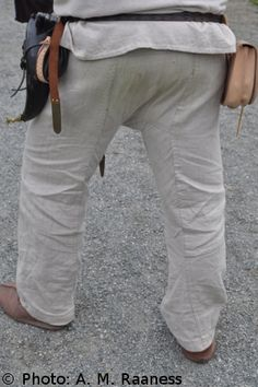 Thorsberg trousers (A. M. Raaness)