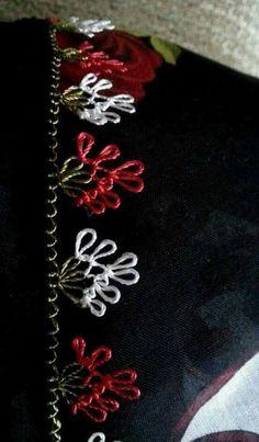 Hulyasya kaptı 🌹 Types Of Craft, Needle Lace, Lace Making, Filet Crochet, Baby Knitting Patterns, Tatting, Needlework, Diy And Crafts, Embroidery