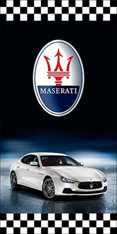 Maserati Auto Dealer Vertical Avenue Pole Banner Signs