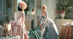 Kombucha Tea With Marie 18th Century Clothing, 18th Century Fashion, Period Costumes, Movie Costumes, Rococo Fashion, Vintage Fashion, Marie Antoinette Movie, Best Costume Design, Wedding Movies