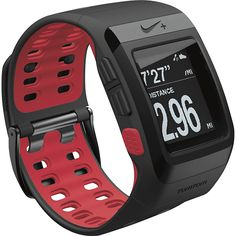 WATCH OUT - Nike+ - SportWatch GPS Powered By TomTom - Black/Red