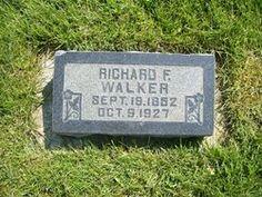 Richard Finney Walker 1852-1927 Mount Pleasant City Cemetery  Mount Pleasant Sanpete County Utah, USA Plot: A_MS_100_8