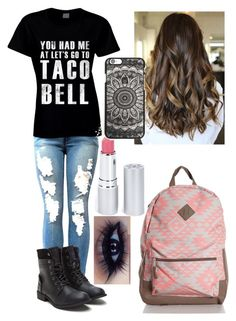 """""""taco bell"""" by ladybug-as-sassy ❤ liked on Polyvore featuring HoneyBee Gardens"""