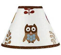 Owl lamp shade. That's a hoot!