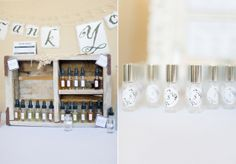 lovely shower favor idea - create your own scent