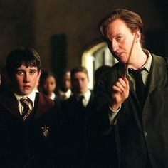 Neville Longbottom and Remus Lupin