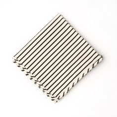 organic striped jersey baby blanket - perfect for a gender-neutral gift