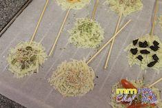 Piruletas de queso proteínico rallado - Blog MASmusculo