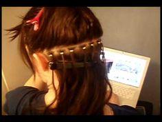 Hair extension tutorial