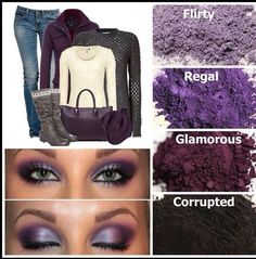 Have your Younique mineral pigments match your outfits. Order at LashesByLindzlee.com