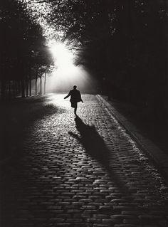 Paris, 1954, photo by Sabine Weiss